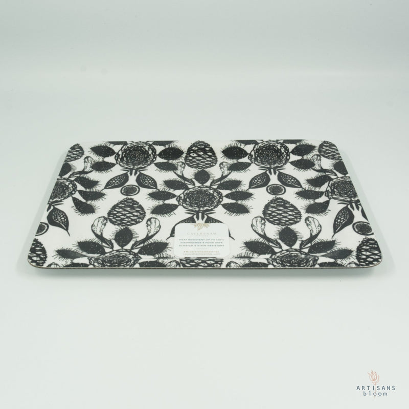 Coffee Tray - Tree Fruit Coal - Artisans Bloom