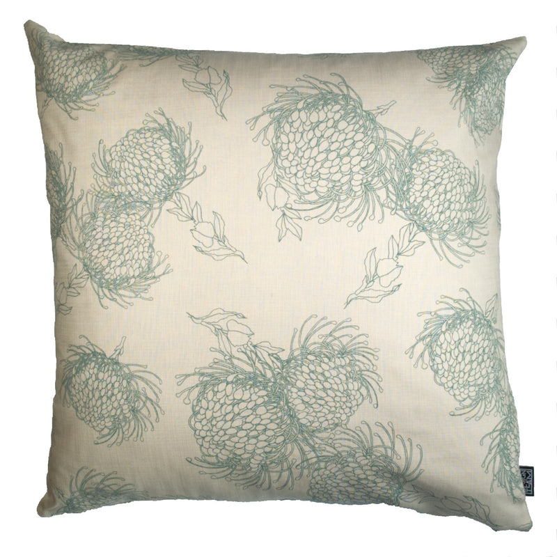 Garden Bloom Sage Cushion Cover - Artisans Bloom