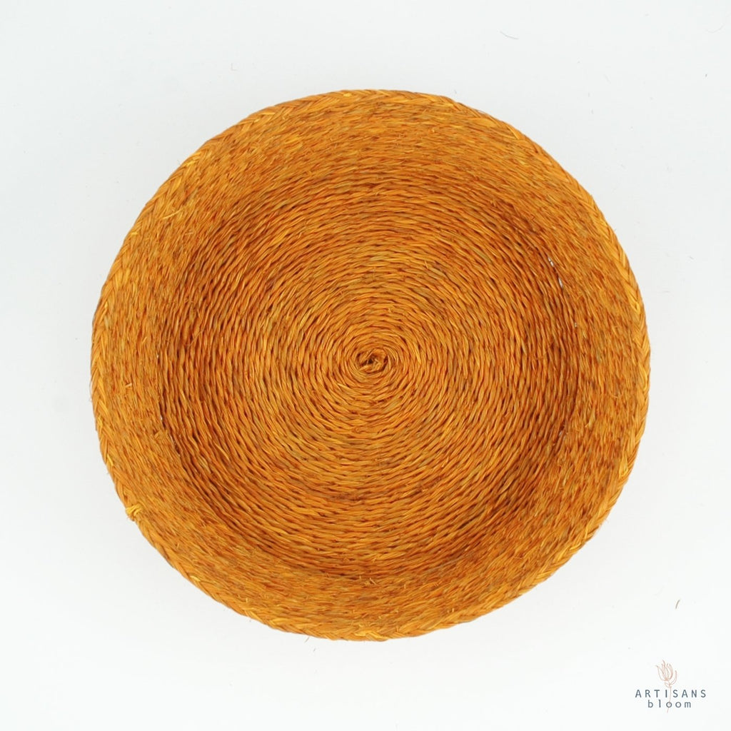 Gold Basket - 25cm - Artisans Bloom
