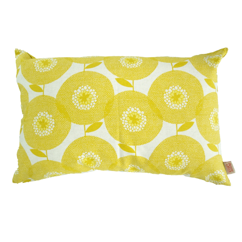 Goldenrod Flower Fields Cushion Cover - Artisans Bloom