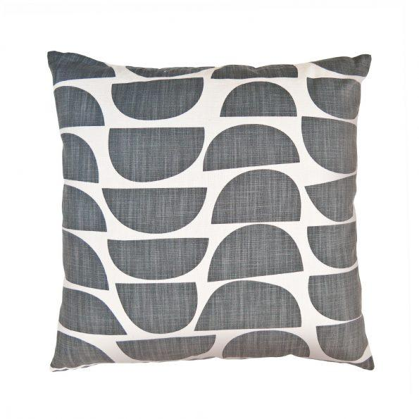 Graphite Bowls Cushion Cover - Artisans Bloom