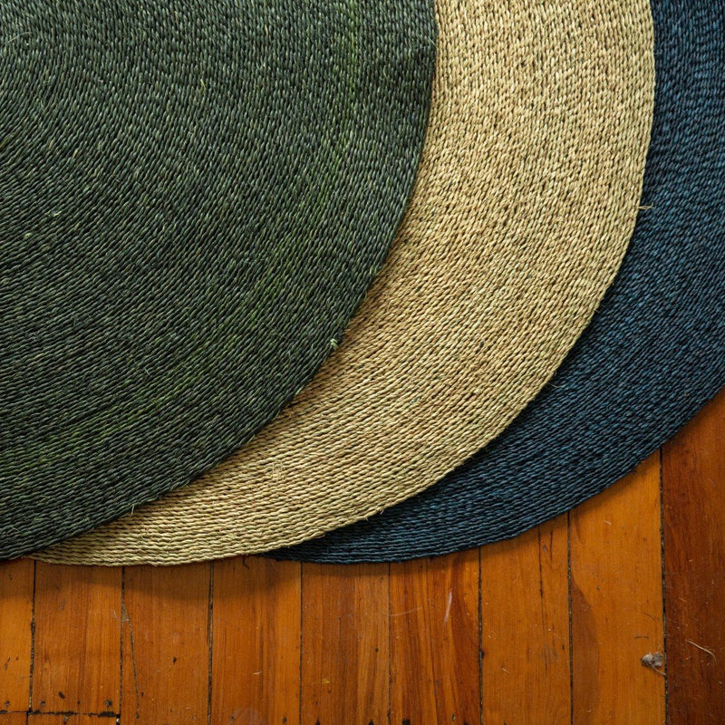 Grass Floor Mat - Teal - Artisans Bloom