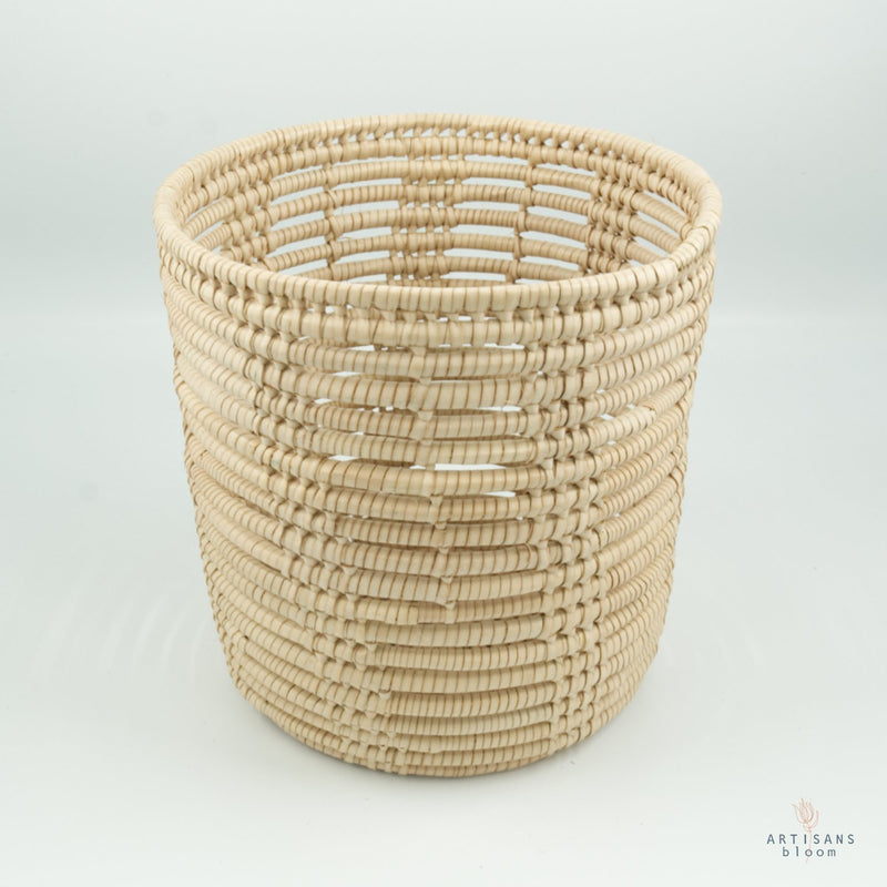 Ilala Palm Planter - Natural - Artisans Bloom