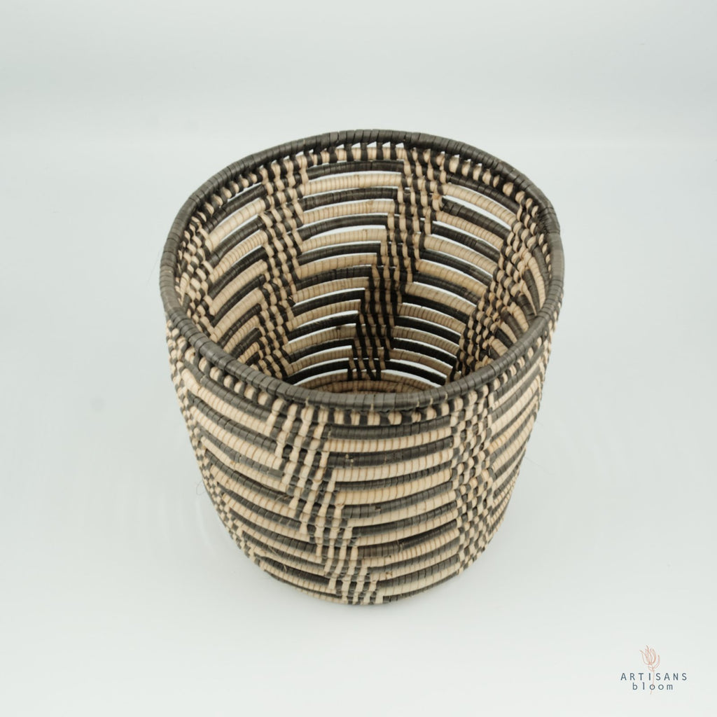 Ilala Palm Planter - Striped - Artisans Bloom