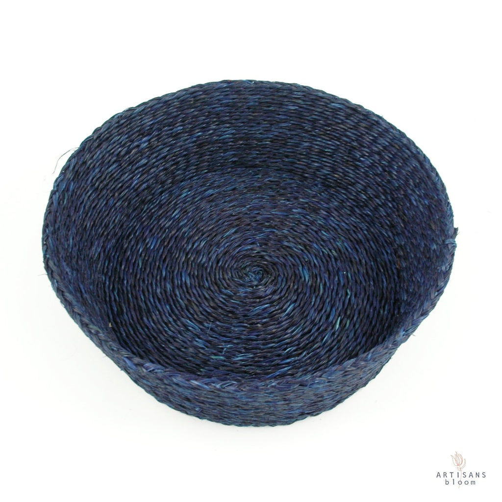 Indigo Basket - 25cm - Artisans Bloom