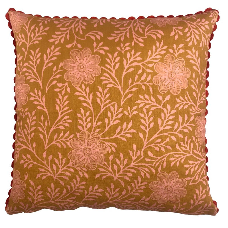 Khanga Flower Cushion Cover - Artisans Bloom