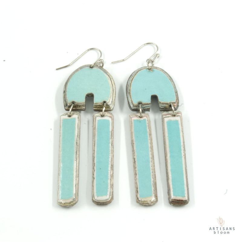 Khosie Earring - Baby Blue - Artisans Bloom