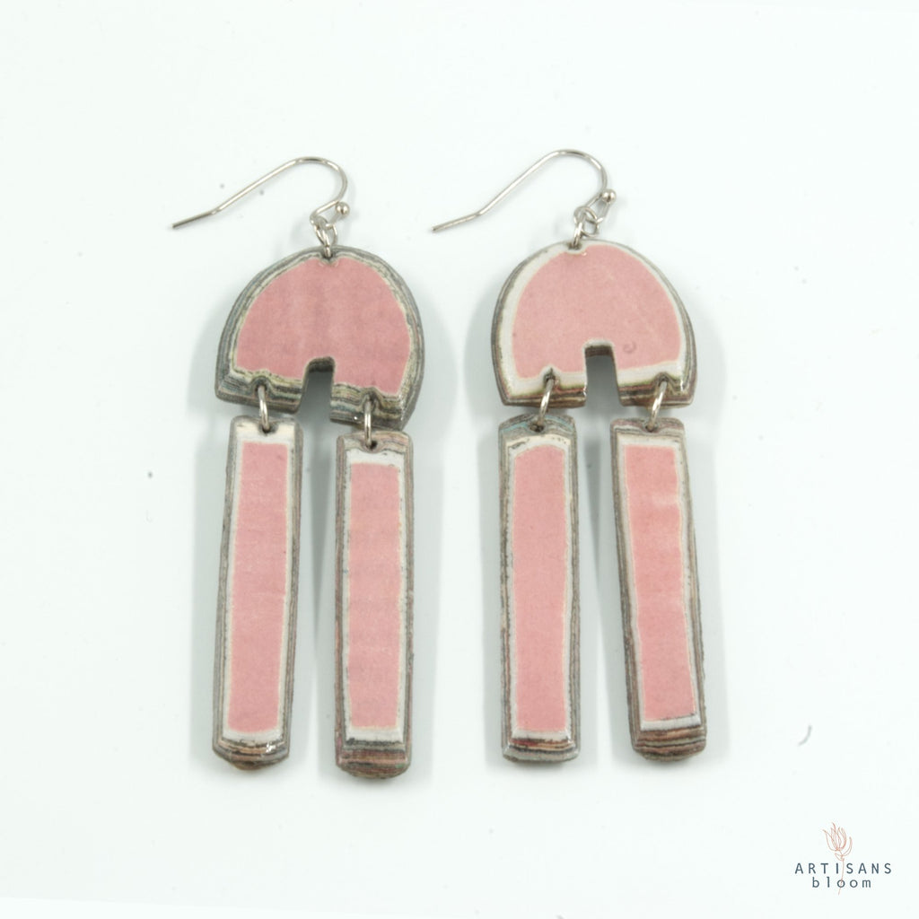 Khosie Earring - Pink - Artisans Bloom