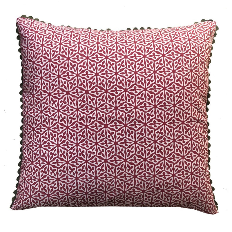 Kidney Bean Seed Cushion Cover - Artisans Bloom