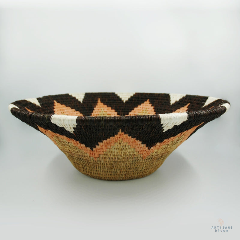 Lavumisa Basket - Acacia Blush - Artisans Bloom