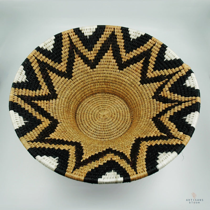 Lavumisa Basket - Burnt Earth - Artisans Bloom