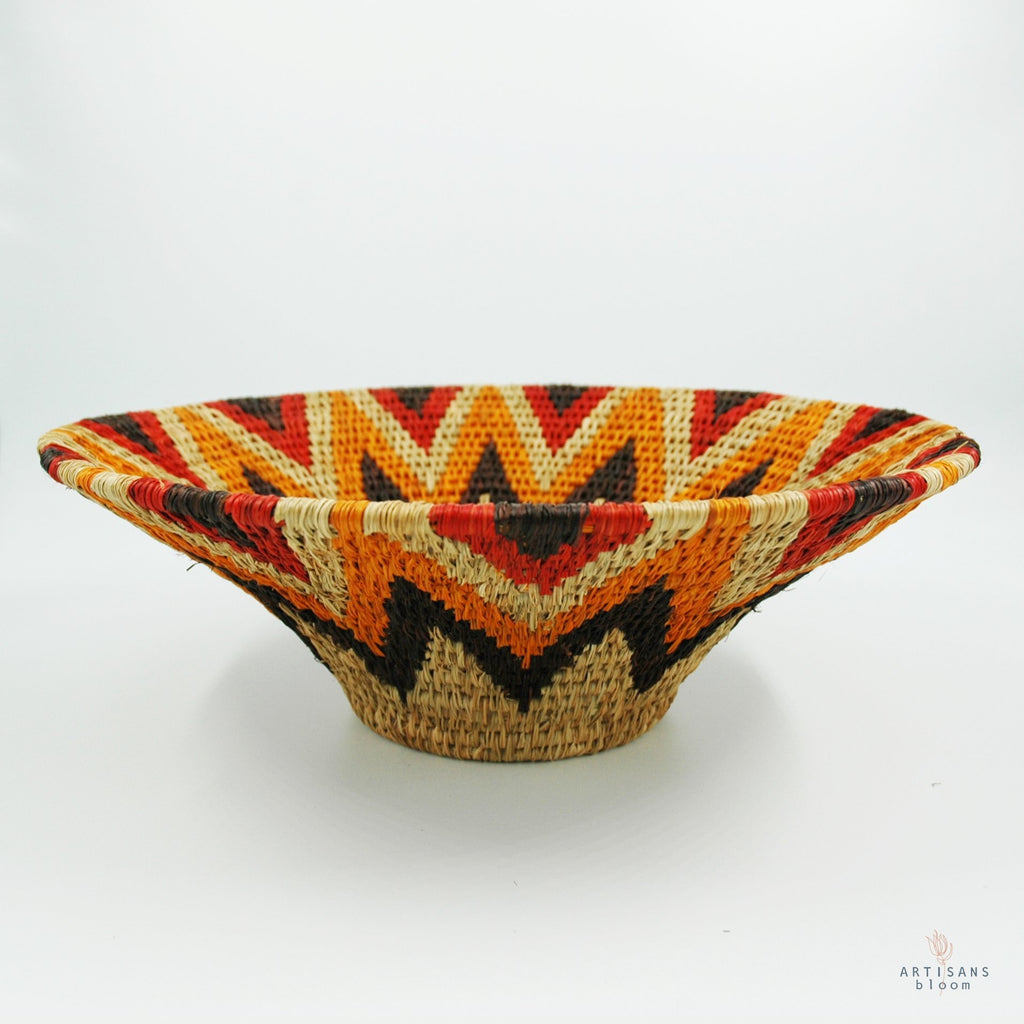 Lavumisa Basket - Sunset - Artisans Bloom