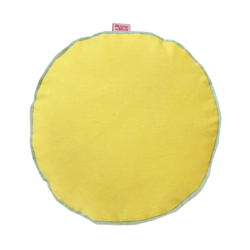 Lemon Colour Pop Cushion Cover - Artisans Bloom