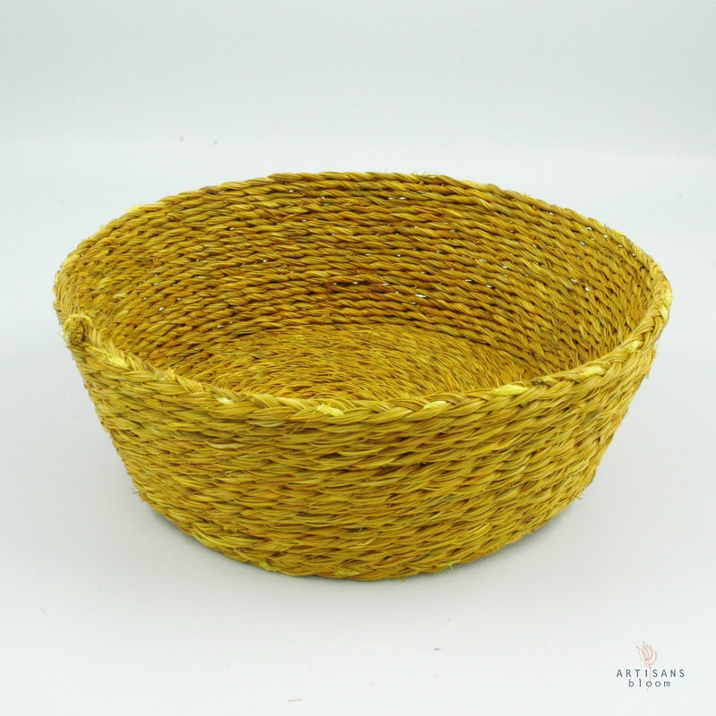 Mustard Basket - 18cm - Artisans Bloom