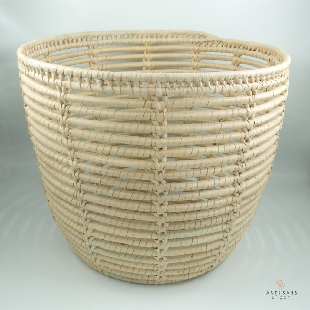 Palm Basket - Natural - Artisans Bloom