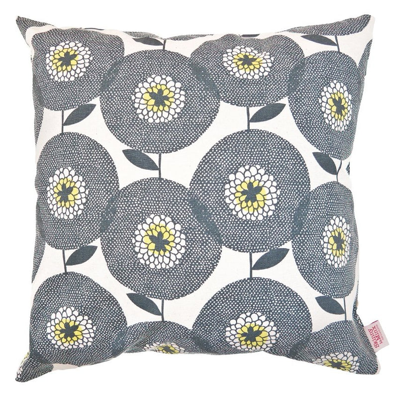 Penny Black Flower Fields Cushion Cover - Artisans Bloom