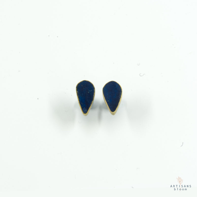 Petal Earring - Indigo - Artisans Bloom