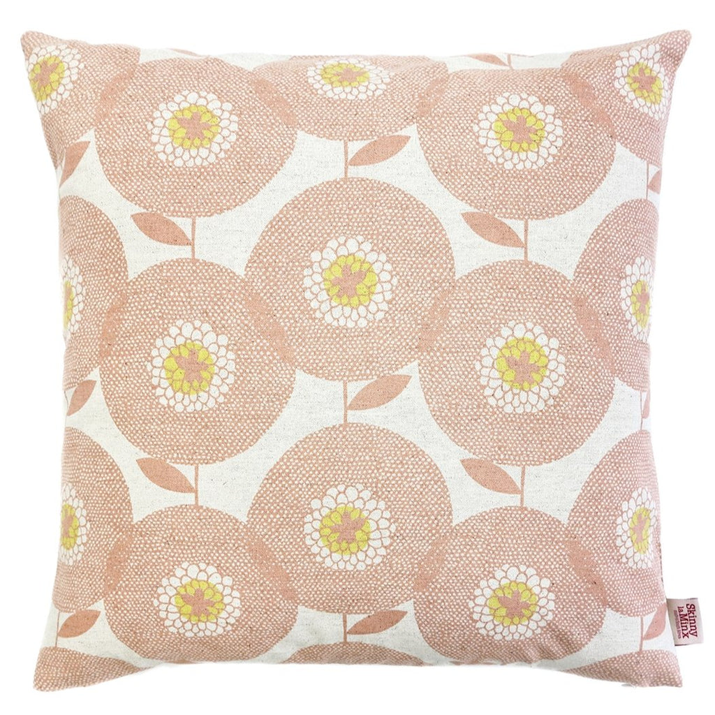 Posy Pink Flower Fields Cushion Cover - Artisans Bloom