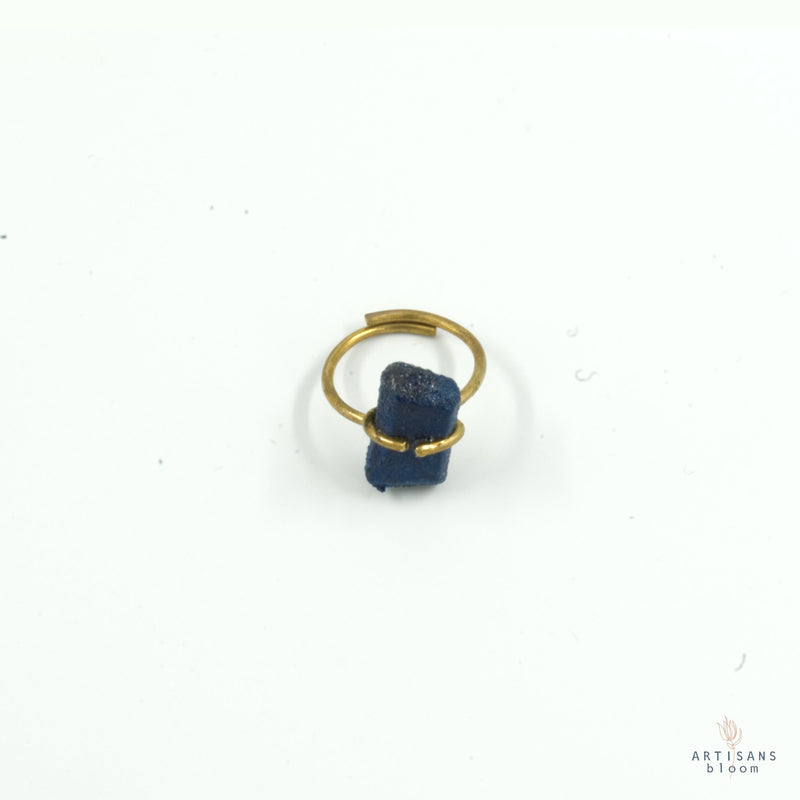 Pulp Nugget Ring - Indigo - Artisans Bloom