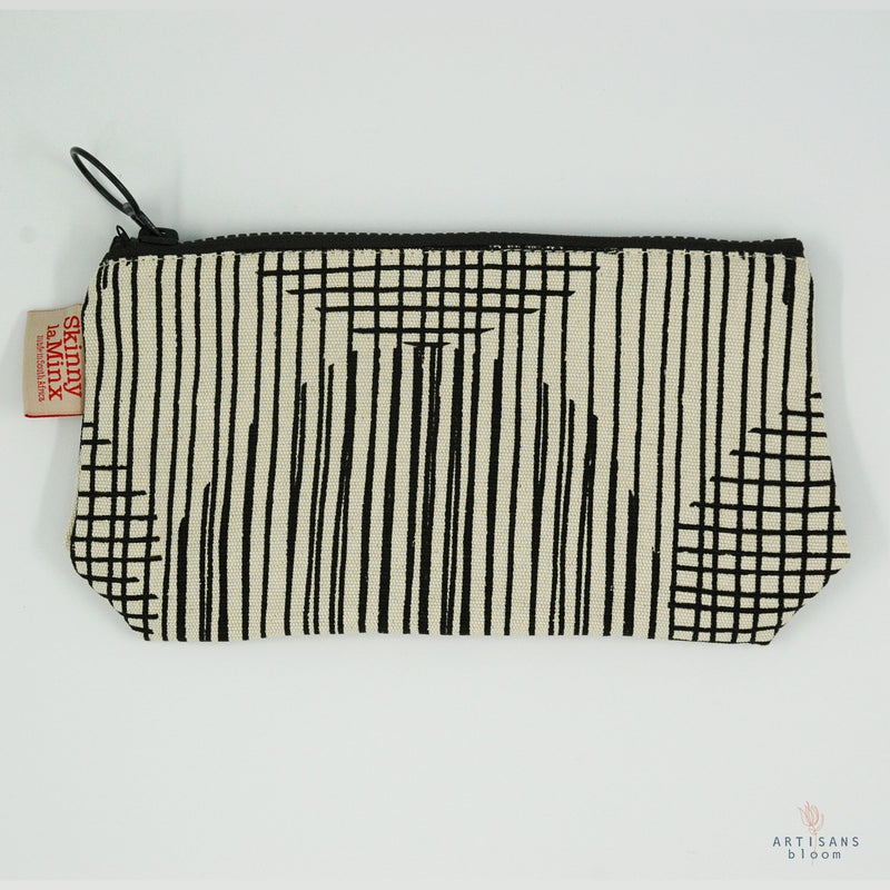 Stashbag - Block Circle Liquorice - Artisans Bloom