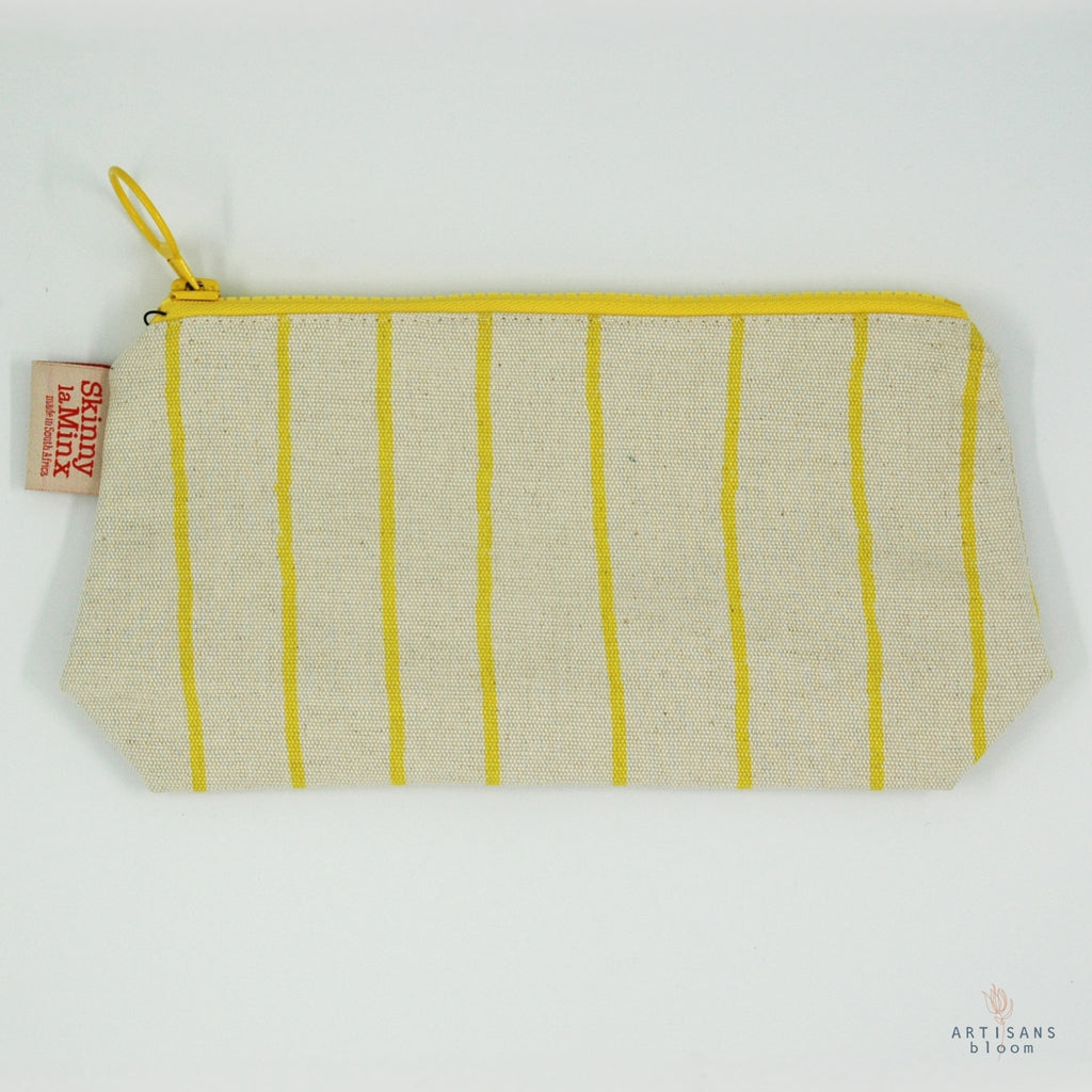 Stashbag - Simple Stripe Lemon - Artisans Bloom