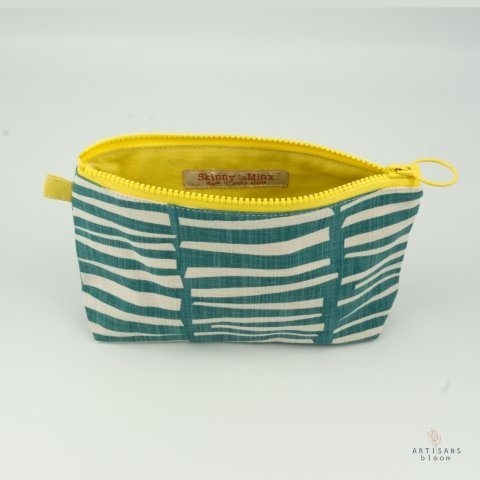 Stashbag - Woodpile Teal - Artisans Bloom