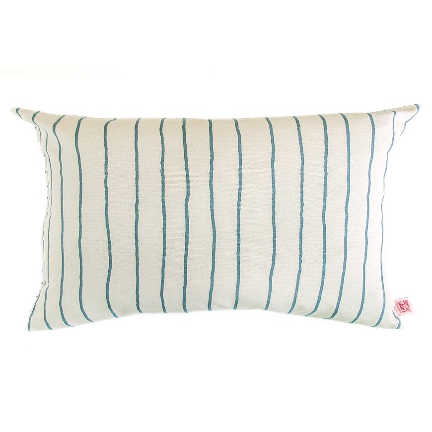 Steel Stripe Cushion Cover - Artisans Bloom