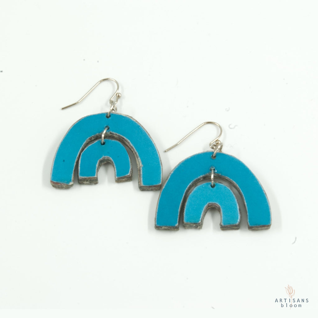 Tengetile Earring - Capri Blue - Artisans Bloom