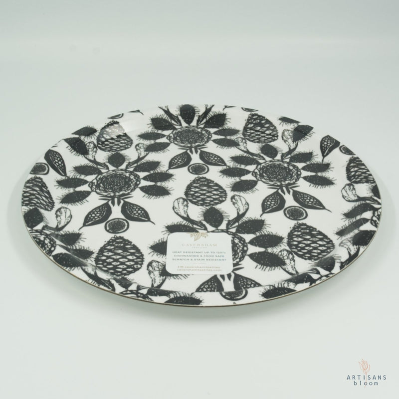 Tree Fruit Alfresco Tray - Coal - Artisans Bloom