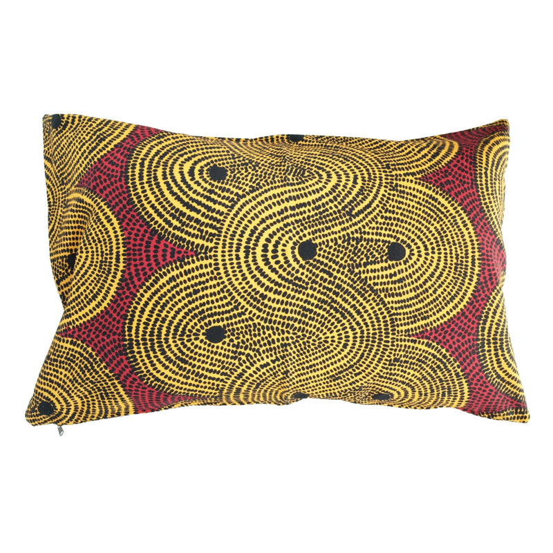 Turmeric Crop Field Cushion Cover - Artisans Bloom