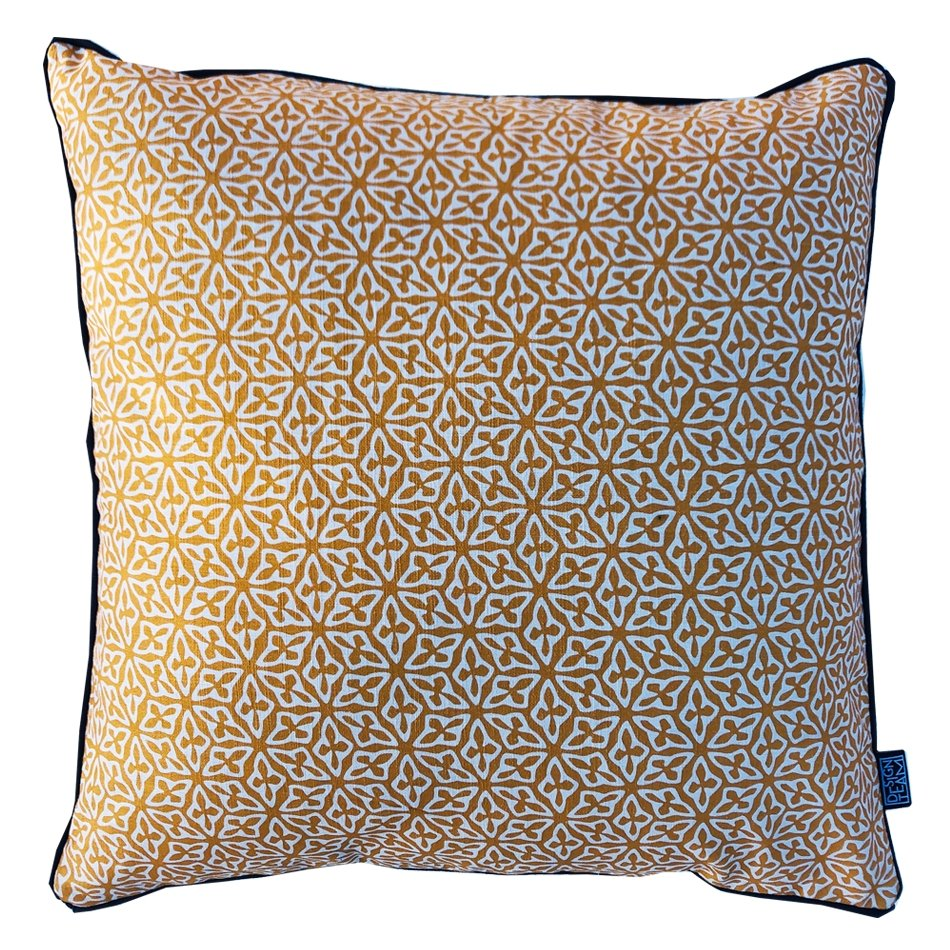 Turmeric Seed Cushion Cover - Artisans Bloom