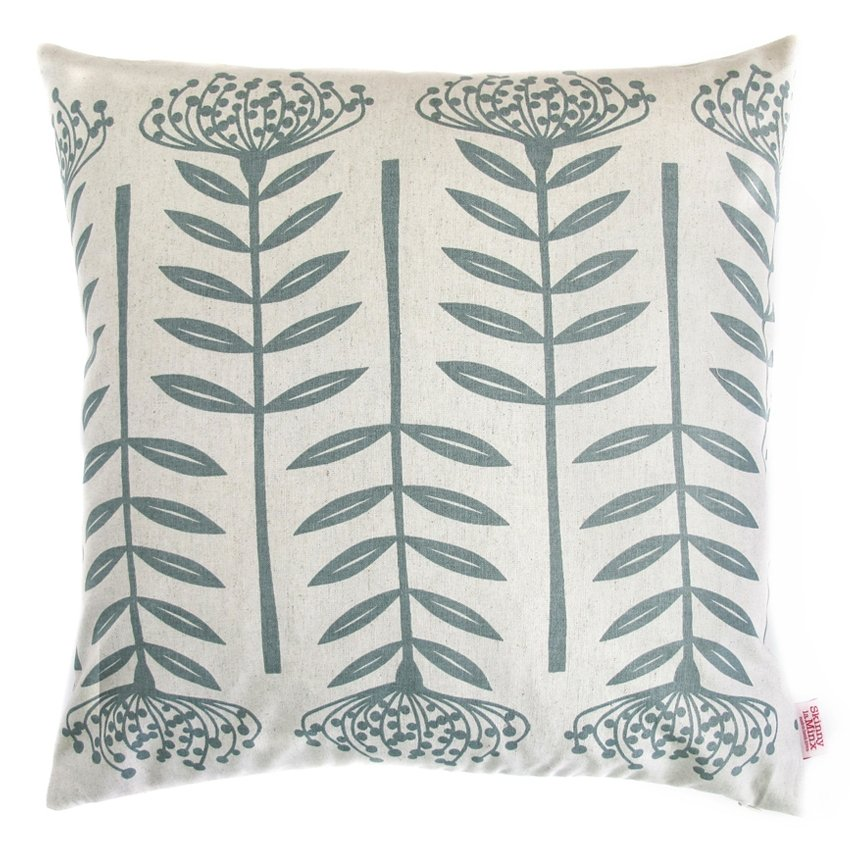 Wedgewood Tall Protea Cushion Cover - Artisans Bloom