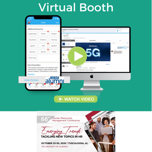 Virtual Booth in the Exhibitor Center