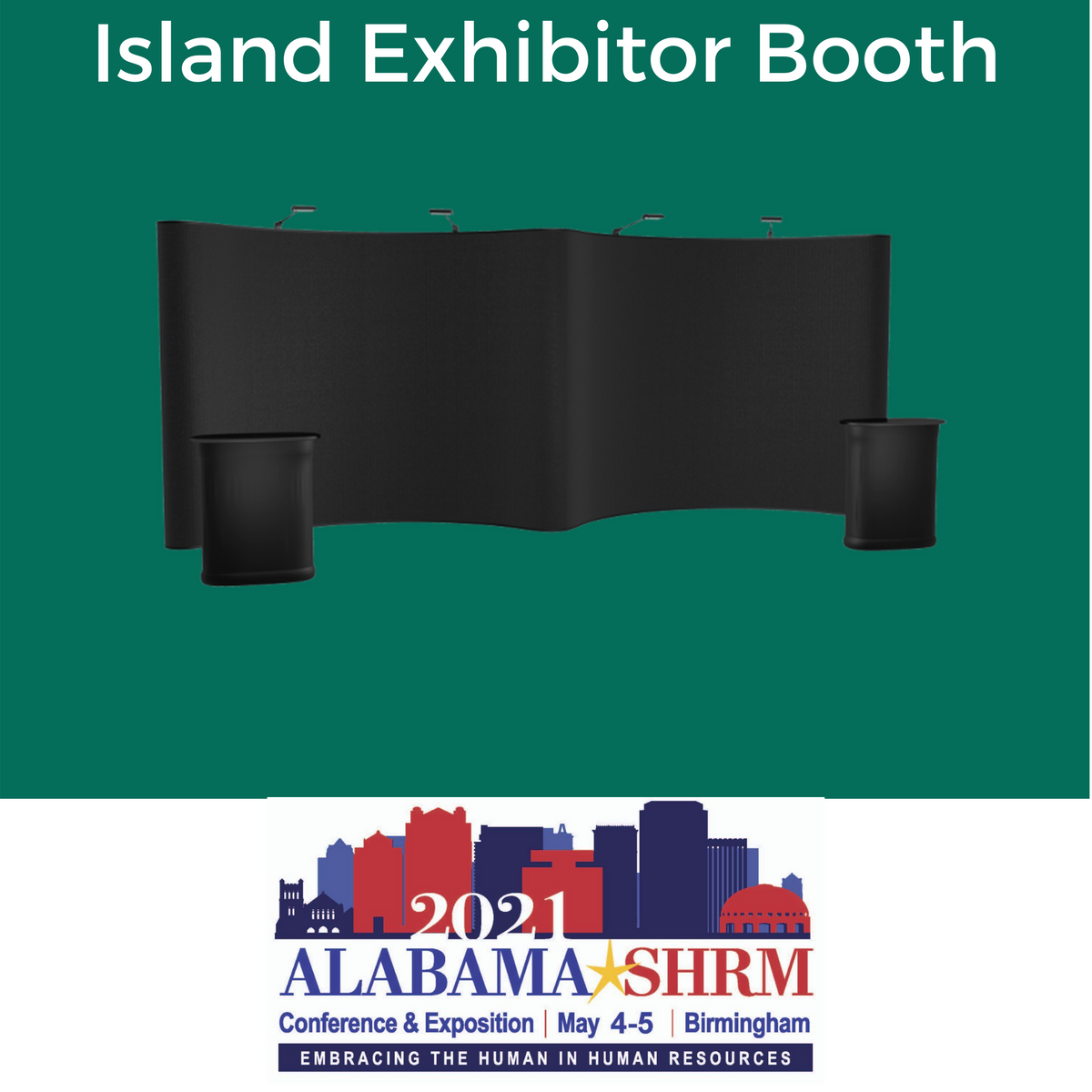 Island Exhibitor Package