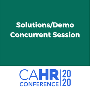 Solutions/Demo Concurrent Session