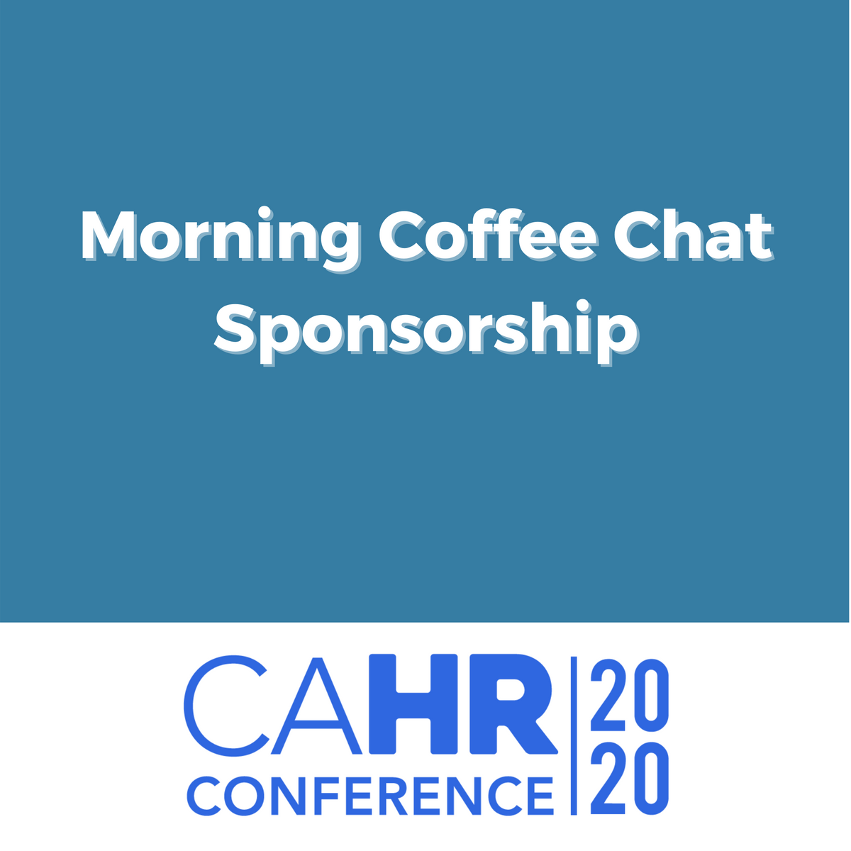 Morning Coffee Chat Sponsorship