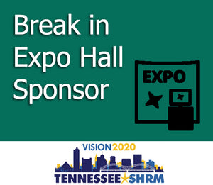 Break in Expo Hall Sponsor - 11/3 10:15-10:45AM