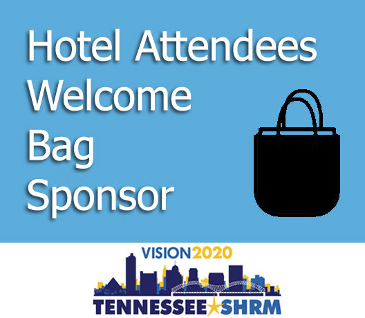 Hotel Attendees Welcome Bag Sponsor