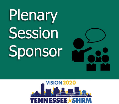 Plenary Session Sponsor - 11/4 9:00-10:15AM