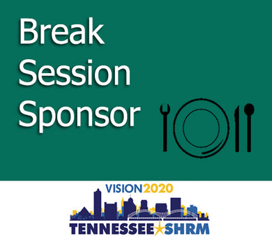 Break Session Sponsor - 11/2 10:15-10:45AM