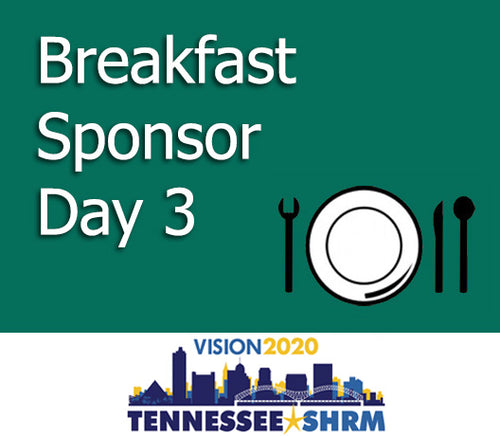 Breakfast Session Sponsor - 11/4 7:00-8:45AM