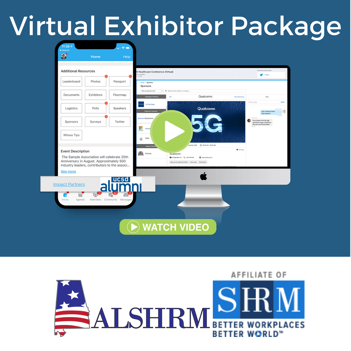 Virtual Exhibitor Package