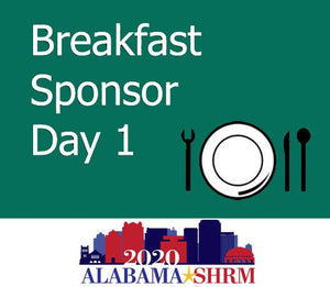 Breakfast Sponsor on May 11th