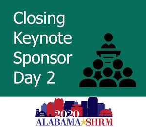Closing Keynote Sponsor on May 12th