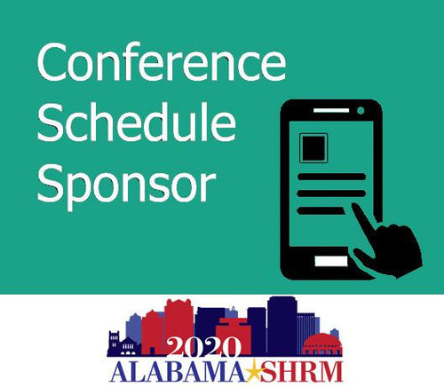 Conference Schedule Sponsor