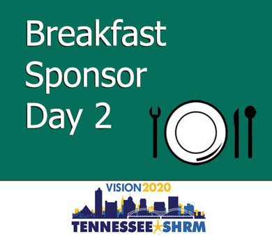 Breakfast Session Sponsor - 11/3 7:00-8:45AM