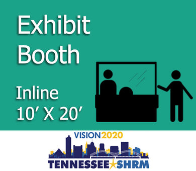 10' x 20' In-Line Exhibitor Booth