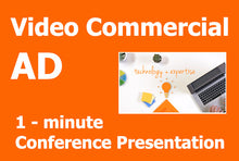 Load image into Gallery viewer, Video Advertising - Conference Presentation - 190514