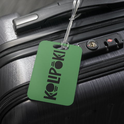 Kolipoki Luggage Tag (Green)