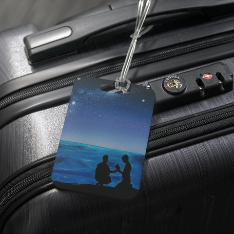 "Image of ""Fekumi"" (Tongan for ""Searching"") Fan Art Luggage Tag"